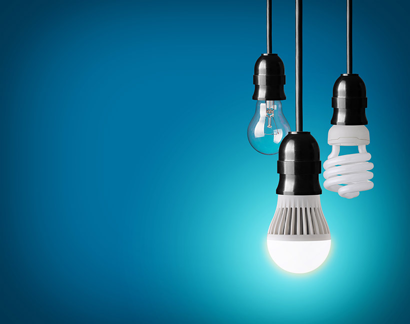 Αντιστοιχια φωτιστικης απόδοσης κοινων και led λαμπων